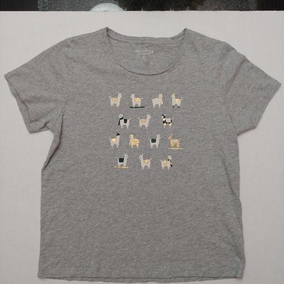 J. Crew Tops - J.Crew Lama collectors t-shirt